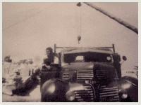 Immagine di camion carico pietre anni 50