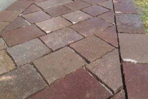Piastrelle in porfido lati tranciati per pavimenti esterni